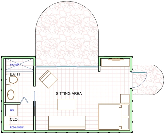 The Right Cottage Floor Plan