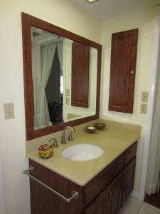 "Here's the ""After"" photo of a simple bath remodel. Made a big difference"