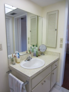 "Before the remodel, this vanity screams ""Help!""."