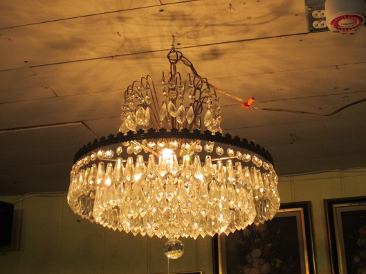 Crystal Chandelier - Add a little Glam!