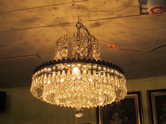 Crystal Chandelier - Add a little Glam!