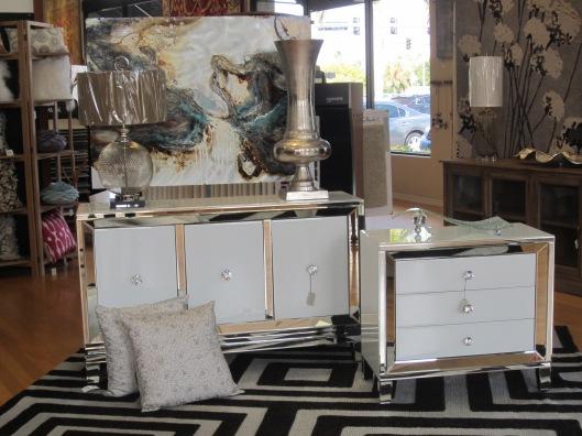 Glamorous Mirrored Dressers